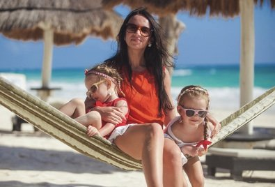 Freedom to spend time with your kids on the beach...